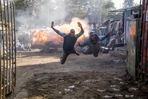 Espectacular imagen de la segunda temporada de Sense8, serie que la plataforma Netflix estrenóel pasado viernes, 5 de mayo.