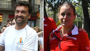 Sergi Bruguera y Anabel Medina, nuevos capitanes de España.