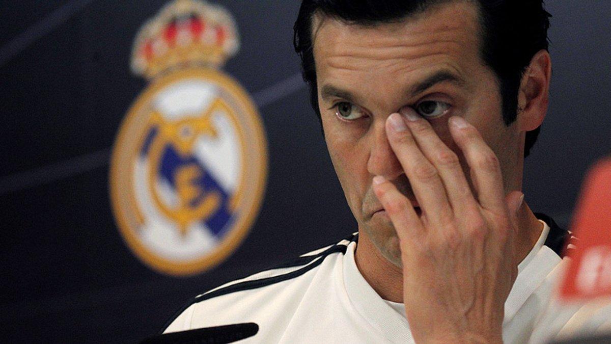 Solari, en la rueda de prensa de la víspera del Valladolid-Real Madrid.