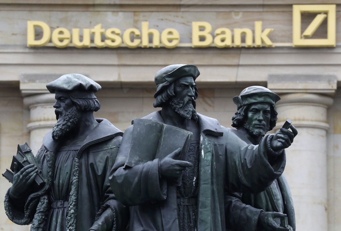 El Deutshce Bank registra una pérdida neta del 63,3%, motivada parcialmente por la reforma fiscal en EEUU.