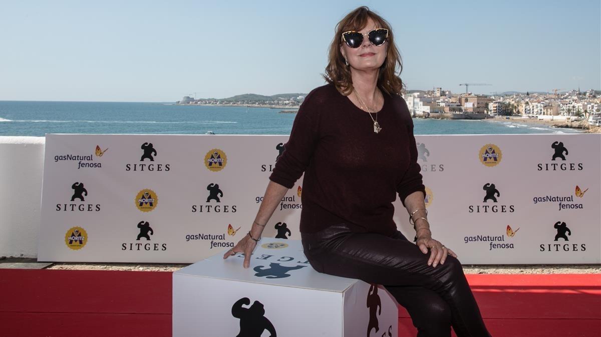 Susan Sarandon en Sitges.