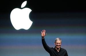 Tim Cook durante una presentación internacional de productos de Apple, en el 2013.