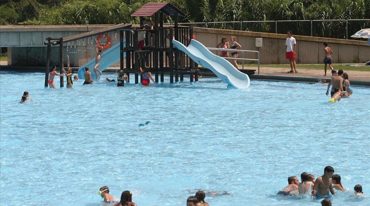 Una piscina municipal de Sabadell.