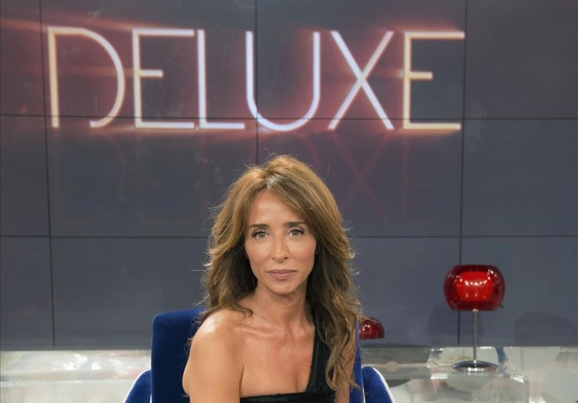María Patiño, presentadora de Sábado Deluxe este verano.