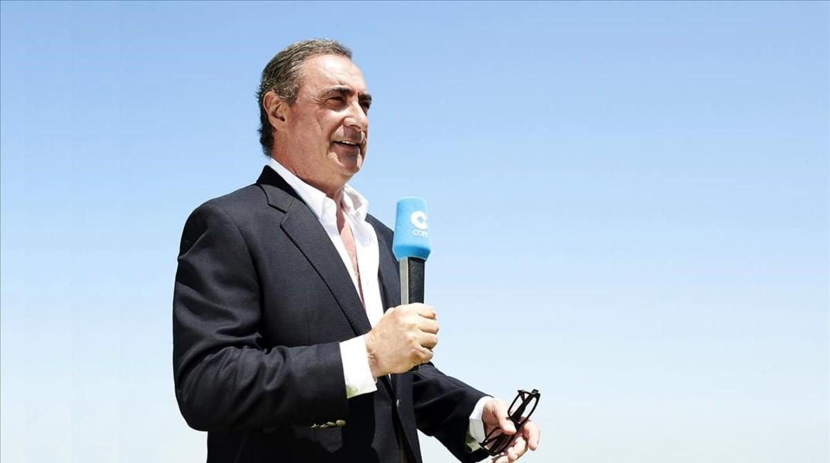 El locutor de la COPE Carlos Herrera.