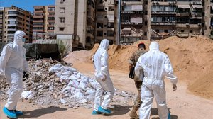 Tres morts en un atac israelià a prop de Damasc