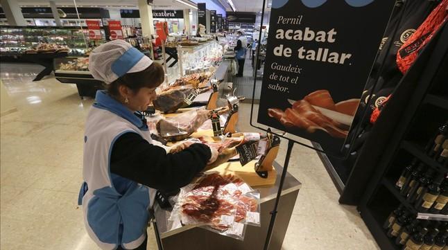 Uno de los supermercados de Capraboen Barcelona.