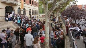 """Estrasburg declara """"inadmissible"""" la primera demanda contra Espanya per l'1-O"""