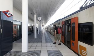 Un tren avariat talla mitja hora el 'metro del Vallès'
