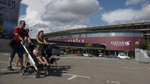 Tsunami Democràtic convoca una concentració al voltant del Camp Nou hores abans del Barcelona-Madrid