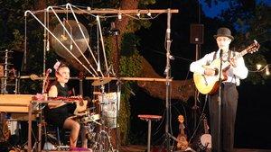 El Duo Bonito, en una imagen de archivo del Festival de Pallassos de Cornellà.