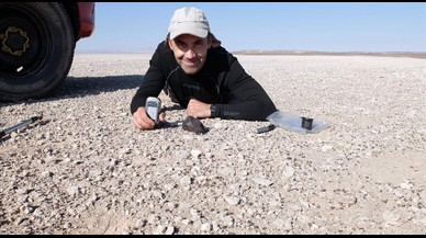 Vicente Casado: «Cada meteorito es una aventura científica intelectual»