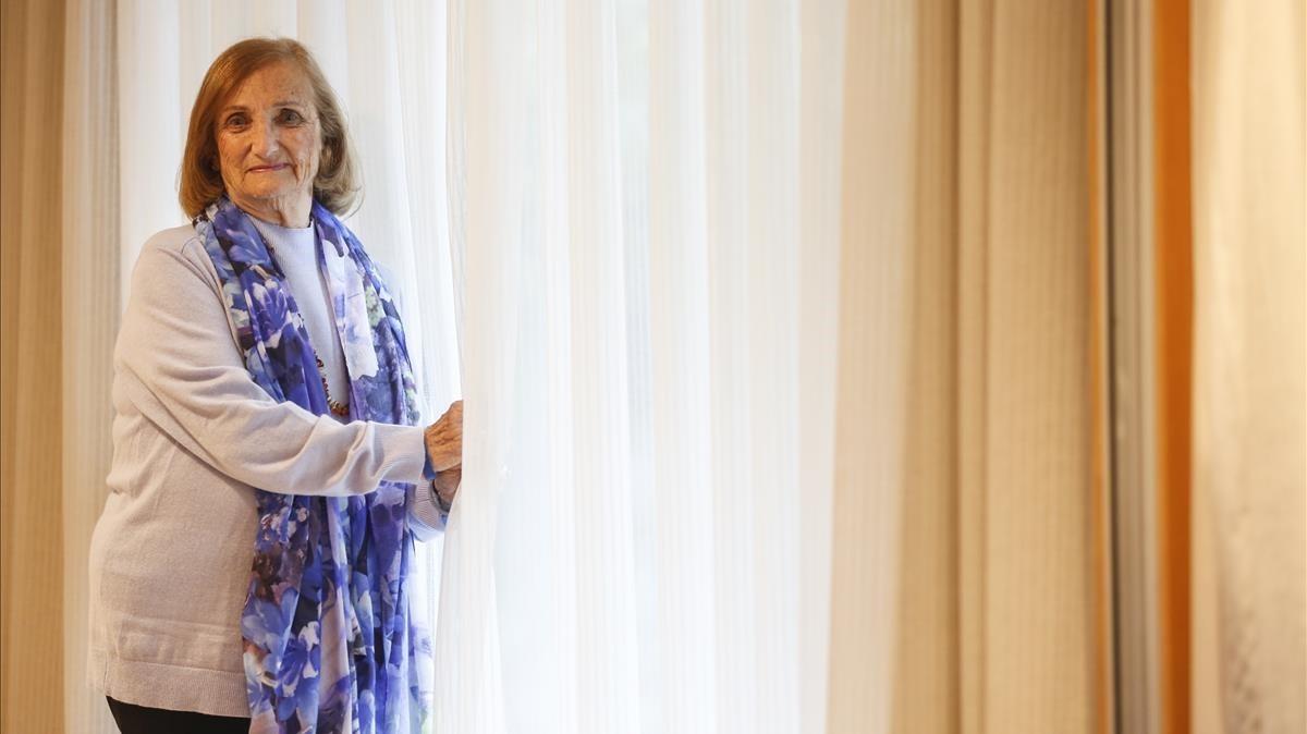 Paquita Sitzar, superviviente del Holocausto.