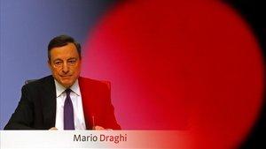 Draghi assegura que les perspectives d'inflació de la zona euro s'allunyen