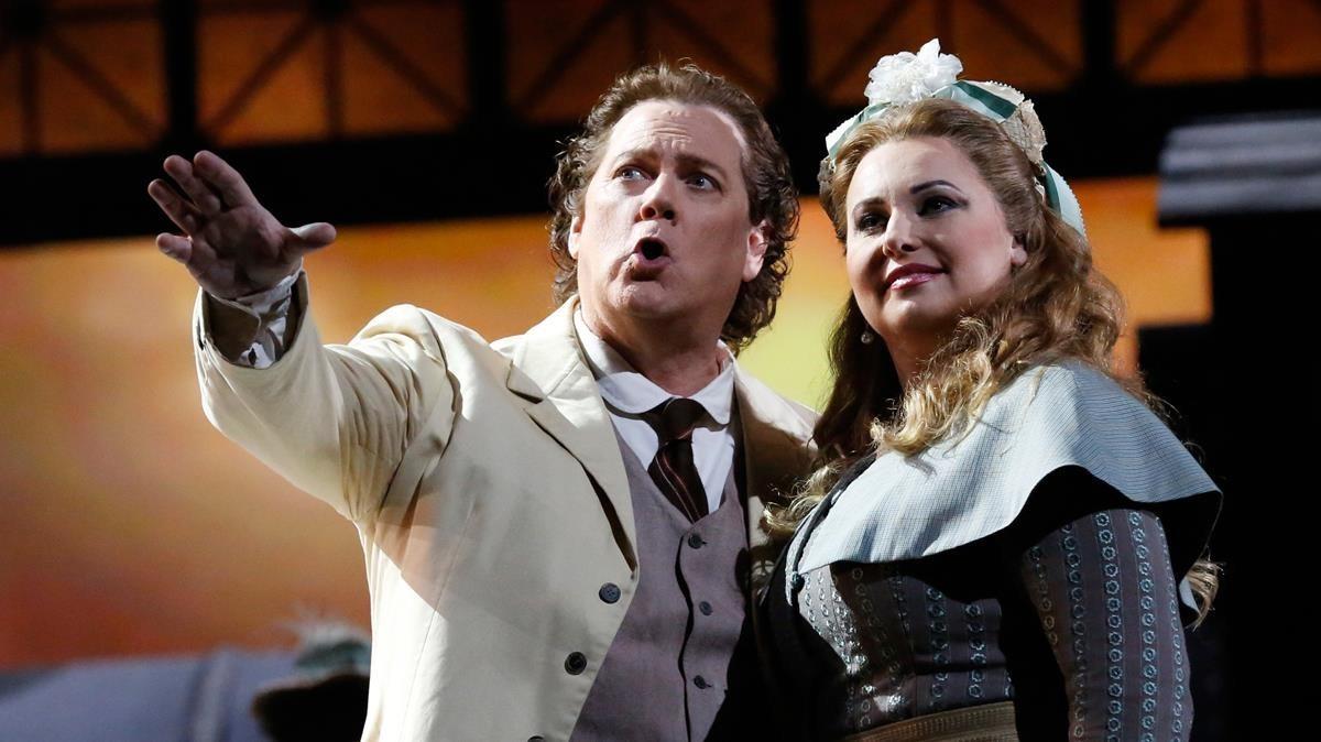 Una imagen de Manon Lescaut en el Liceu.
