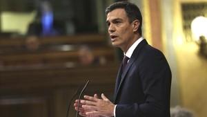 Sánchez crida els seus socis a no tombar el dèficit i provocar un avançament electoral