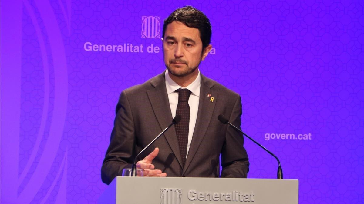 """El Govern acusa Aena de """"negligència premeditada"""" en la gestió de l'aeroport de Barcelona"""