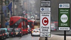 Londres ja cobra 14,5 euros per circular amb cotxe pel centre