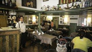 El restaurante Can Lluís.
