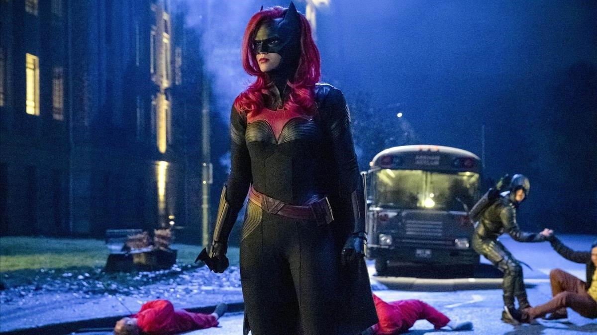 Ruby Rose, como Batwoman, en la serie de HBO del mismo nombre.