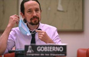 Iglesias veta la participació de Cs en els Pressupostos