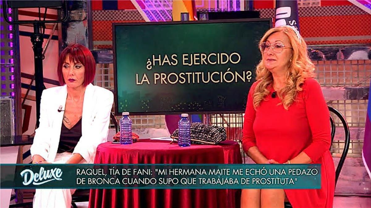 Polígrafo indagando si son prostitutas (T-5).