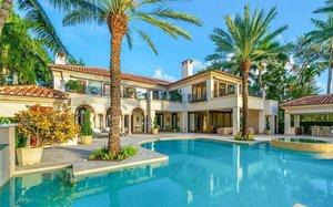 La nueva casa de Jennifer Lopez y Álex Rodríguez en Miami.
