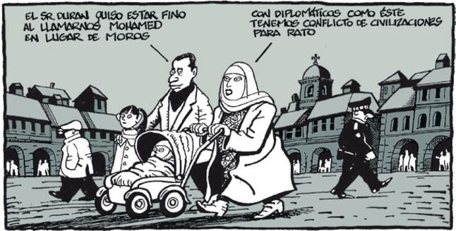 Viñeta de Ferreres en El Periódico (28.11.2011)