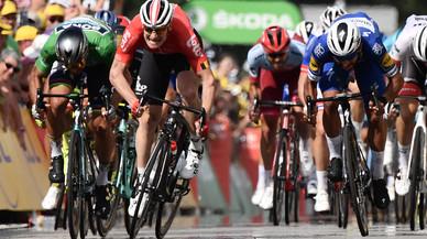 Tour de Francia: Gaviria demuestra que es un salvaje
