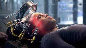 Michael Ealy, que da vida al androide Dorian, en la serie 'Almost human'.