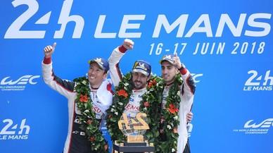 Alonso guanya les 24 hores de Le Mans en gran