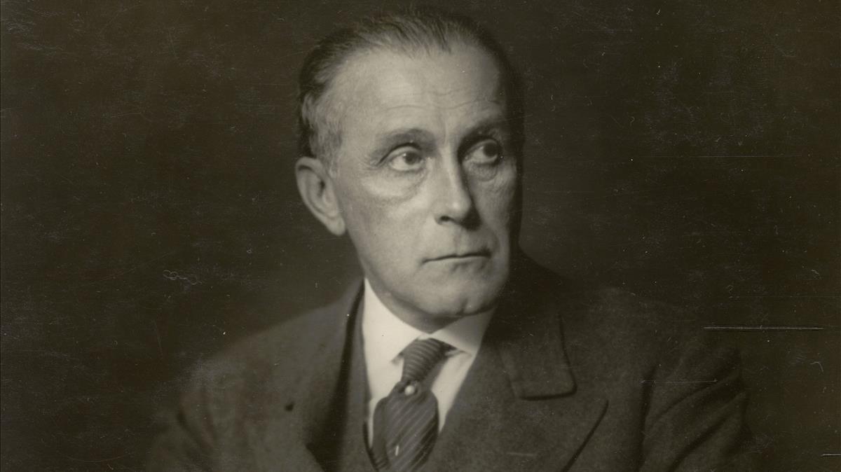 El arquitecto vienés Adolf Loos.