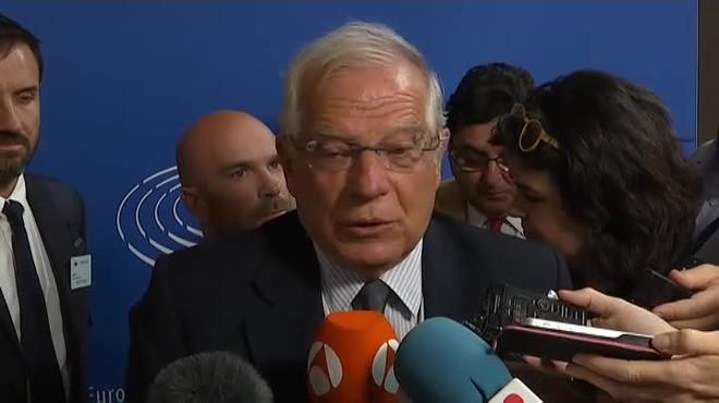 Borrell es mostra partidari de la llibertat condicional per als polítics presos
