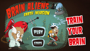 Captura del juego Brain Aliens: Earth Invasion.