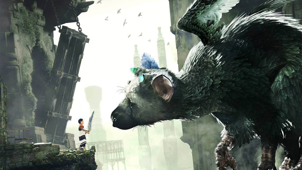 Captura del videojuego The Last Guardian.