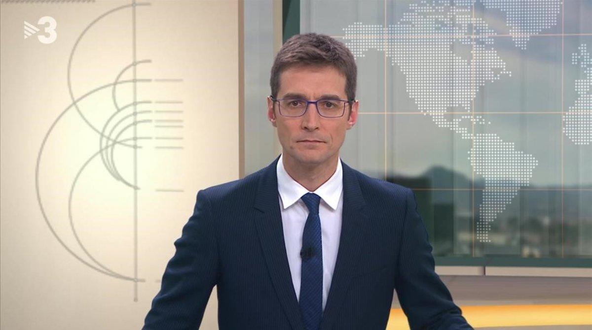Carles Prats, presentador del 'TN migdia' de TV-3