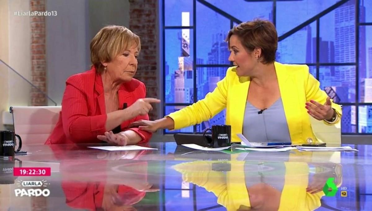 Celia Villalobos se enfada en Liarla Pardo.