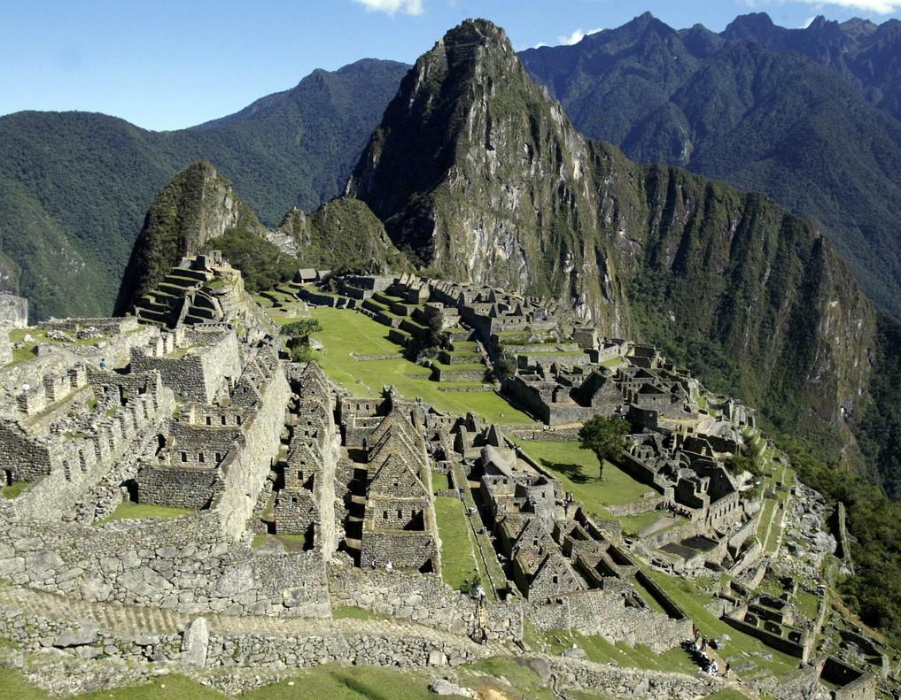 La ciudadela inca de Machu Piccu, en la zona de Cuzco, en Perú.