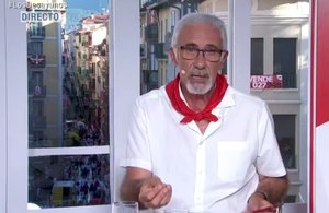 El comentarista de TVE Javier Solano.