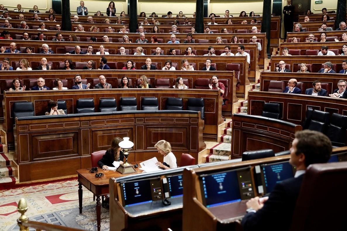 ecb003823 Los diputados socialistas y de Podemos celebran el decreto que permitirá  exhumar los restos del dictador