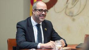 El 'conseller' de Interior, Miquel Buch.