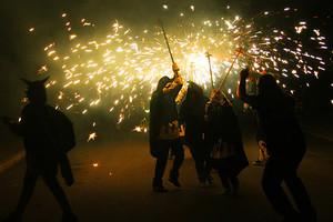 El correfoc será uno de los actos centrales de las fiestas del barrio de Camps Blancs de Sant Boi