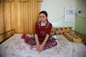 Lamiya Aji Bashar, una de las dos jóvenes yazidis ganadoras del premio Sajarov.
