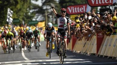 Dan Martin sale del escondite del Tour de Francia