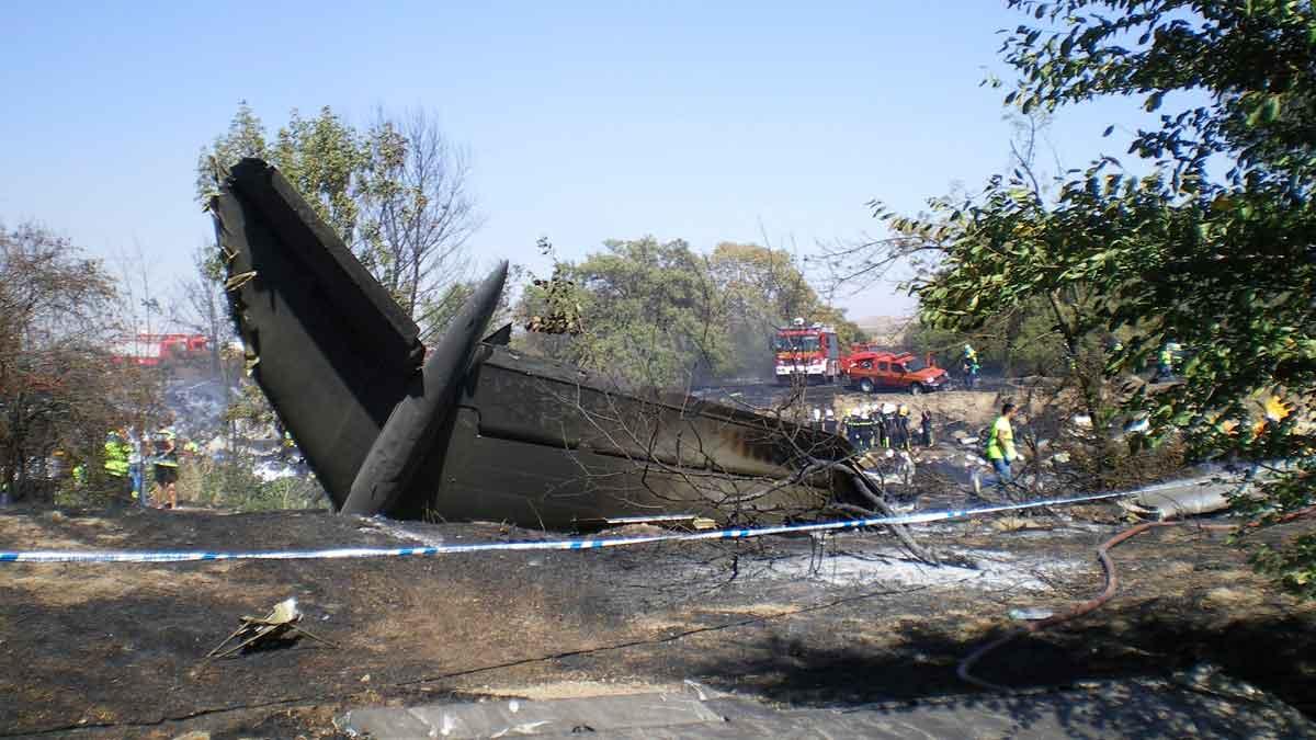 Décimo aniversario del accidente de Spanair.