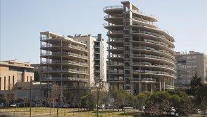 Sant Joan Despí expropiarà dos blocs de vivendes inacabades