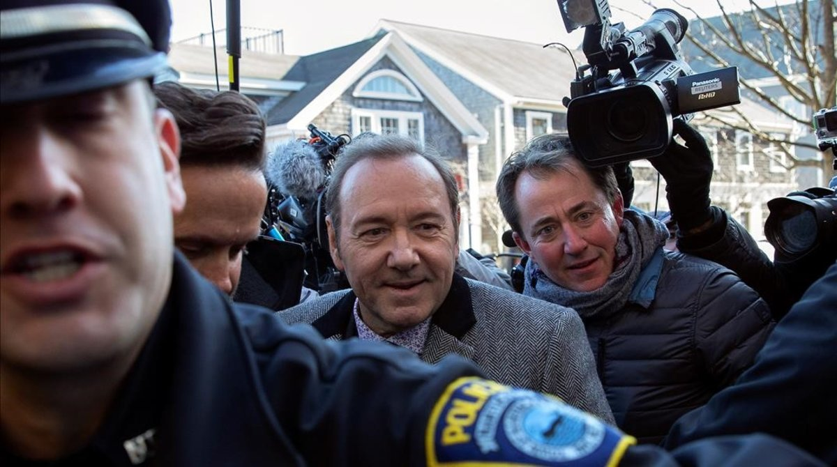 Kevin Spacey, en libertad bajo fianza tras su abuso sexual