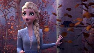 Elsa, en un fotograma de 'Frozen II'