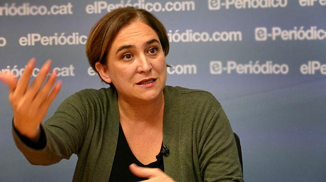 La alcaldesa de Barcelona, analiza la actualidad con Enric Hernández
