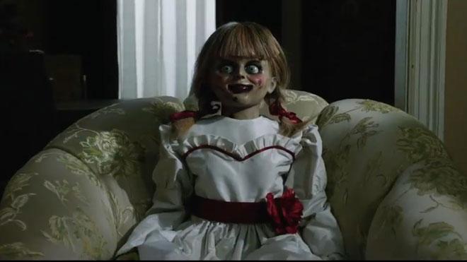 'Annabelle vuelve a casa': terror de joguina